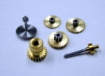 MKS Ersatz Metallgetriebe für DS480 Metall Heckservo