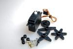 1x GS- D9650 Digital Servo 0.08sec für Taumelscheibe T-REX 500