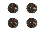 4x Emax MT3510 V2 Brushless Motor 600kv 3S-4S 11,1V-14,8V 102g Quadcopter Set